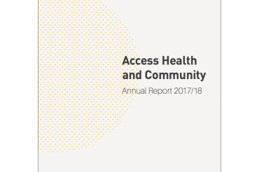 Access Health and Community Annual Report 2017/18
