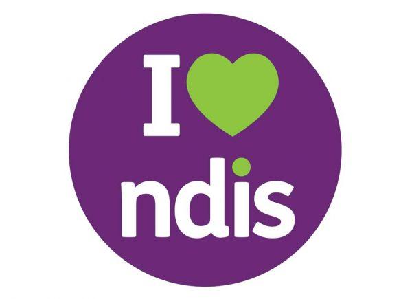 NDIS logo - I love NDIS