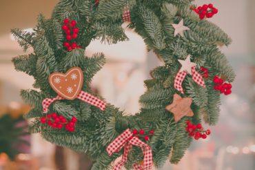DIY Christmas Wreath Making