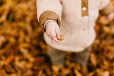 An Autumn Activity: Leaf Rubbings