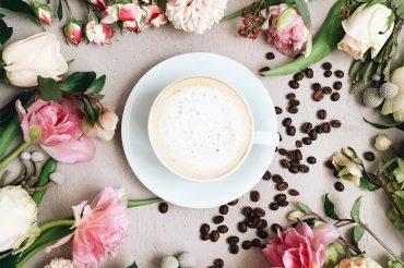 Latte flowers